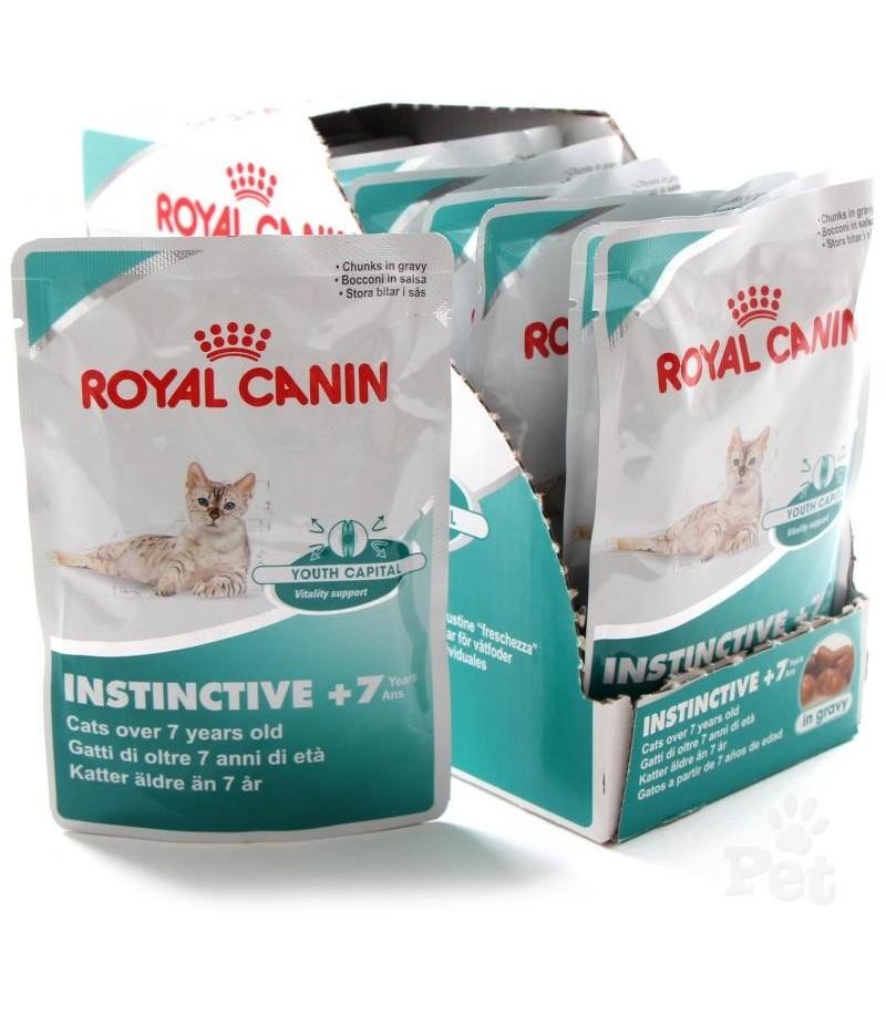 royal canin instinctive 7 in gravy moomoopets sg singapore 39 s online pet supplies shop. Black Bedroom Furniture Sets. Home Design Ideas