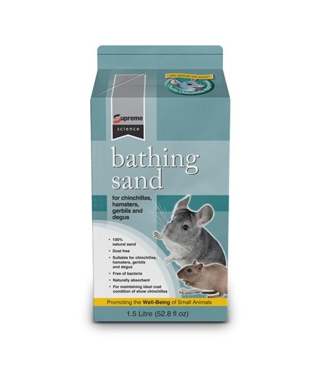 Charlie Chinchilla Bathing Sand