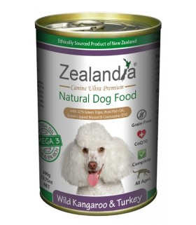 Zealandia Dog Wild Kangaroo & Turkey