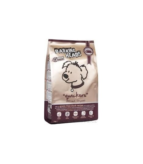 Barking Heads Quackers Grain Free