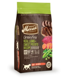 Merrick Grain Free Real Lamb & Sweet Potato Limited Ingredients Adult Dog Food