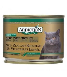 Addiction Cat NZ Brushtail & Vegetables Entrée Grain Free