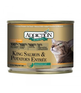 Addiction Cat King Salmon & Potatoes Entrée Grain Free