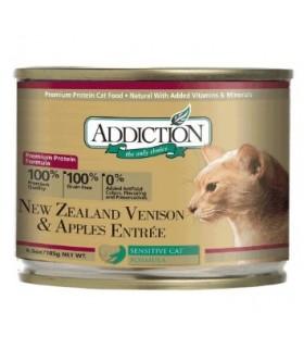 Addiction Cat NZ Venison & Apples Entree (Grain Free)