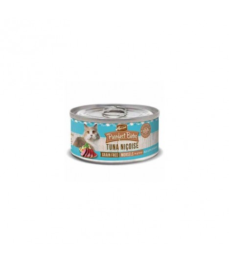 Merrick Purrfect Bistro Grain Free Tuna Nicoise Sliced Canned Cat Food