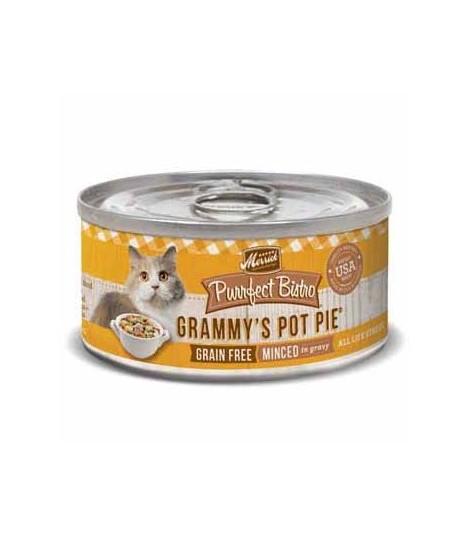 Merrick Purrfect Bistro Grain Free Grammy's Pot Pie Canned Cat Food
