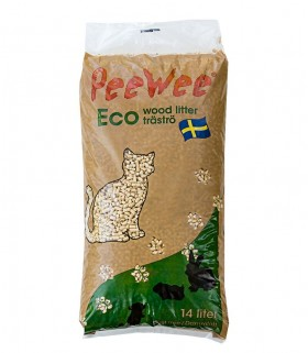 Pee Wee Eco Pine Wood Pellet Cat Litter 9kg (14L)