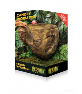 Exo Terra Canopy Worm Dish / Arboreal Worm Feeder Dish