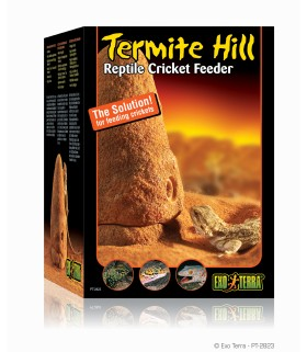 Exo Terra Termite Hill Reptile Cricket Feeder