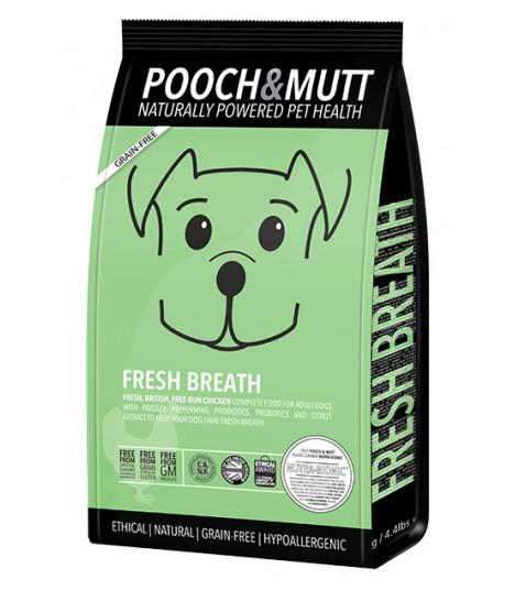 Pooch Mutt Fresh Breath Grain Free Dog Food