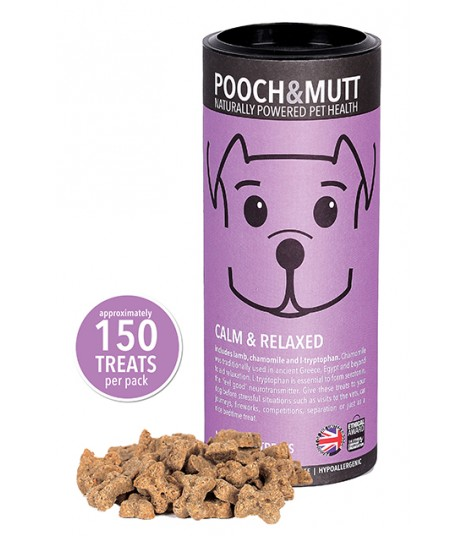 Pooch & Mutt Calm & Relaxed Mini Bone Treats
