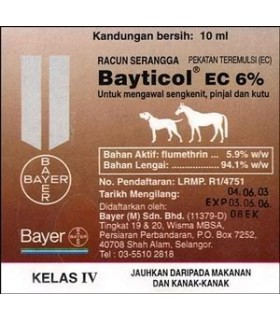 Bayticol Fleas and Ticks Wash