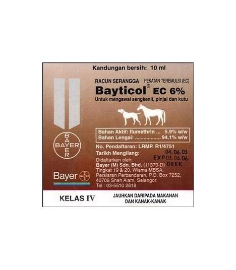 Bayticol Fleas and Ticks Wash