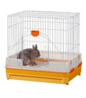 Marukan Rabbit Cage with Pull-out Tray