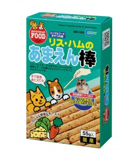Marukan Cheese & Vegetable Sticks for Small Animals 55g