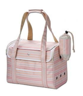 Marukan Carry Bag for Rabbits Pink
