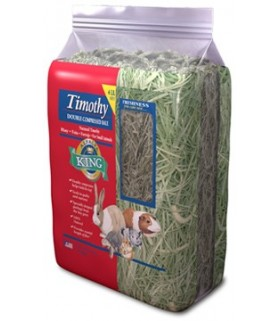 Alfalfa King Timothy Hay Double Compressed 4lb (1.81kg)