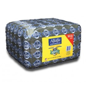 Alfalfa King Alfalfa Hay Double Compressed 50lb (22.68kg)