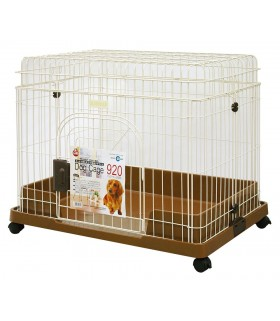 Marukan Dog Cage 920 Brown Collapsible