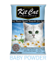 Kit Cat Baby Powder Scented Scoopable Cat Litter