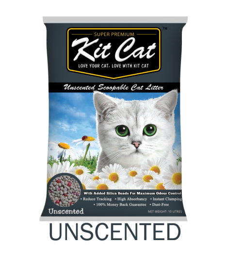 Kit Cat Unscented Scoopable Cat Litter