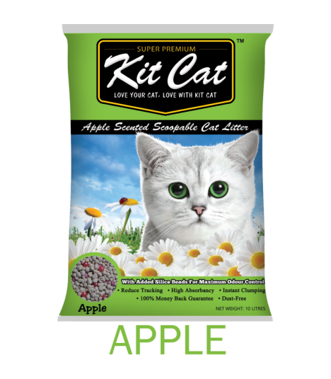 Kit Cat Apple Scented Scoopable Cat Litter
