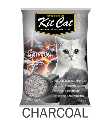 Kit Cat Charcoal Clumping Cat Sand
