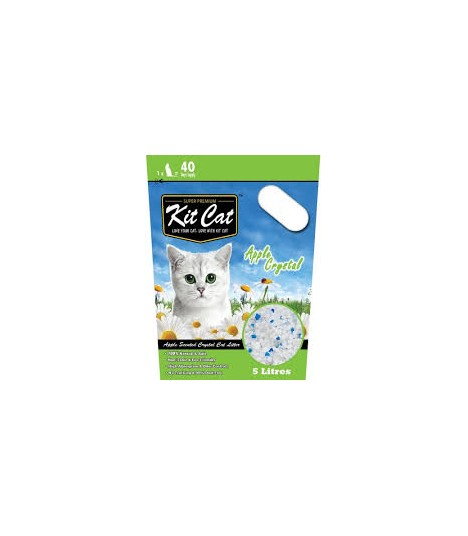Kit Cat Crystal Litter Apple