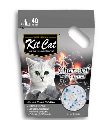 Kit Cat Charcoal Crystal Cat Litter