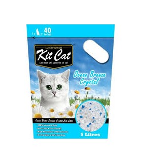 Kit Cat Ocean Breeze Crystal Cat Litter