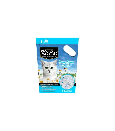 Kit Cat Ocean Breeze Crystal Cat Litter