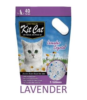 Kit Cat Lavender Crystal Cat Litter
