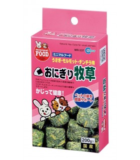 Marukan Natural Hay Cube for Small Animals 200g