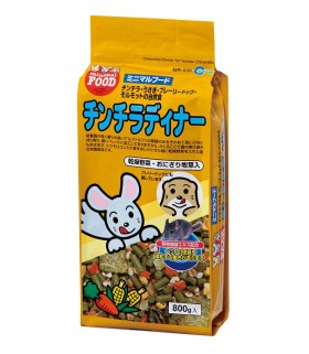 Marukan Chinchilla Mix Fruit Dinner 800g