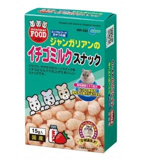 Marukan Strawberry Milk Snack for Dwarf Hamsters