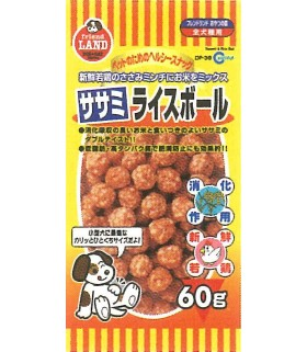 Marukan Sasami & Rice Ball 60g