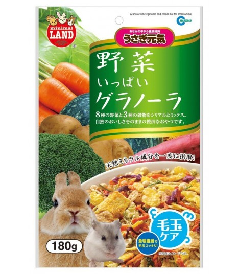 Marukan Granola with Vegetable & Cereal Mix 180g