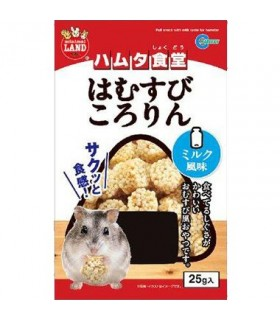Marukan Puff Snack with Milk Taste for Hamsters