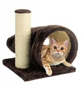 Marukan Cat Scratcher Brisky Tunnel