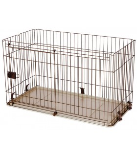 Marukan Dog Cage with Slide Door L