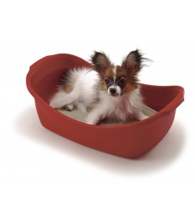 Richell Red Pet Bed Carrier