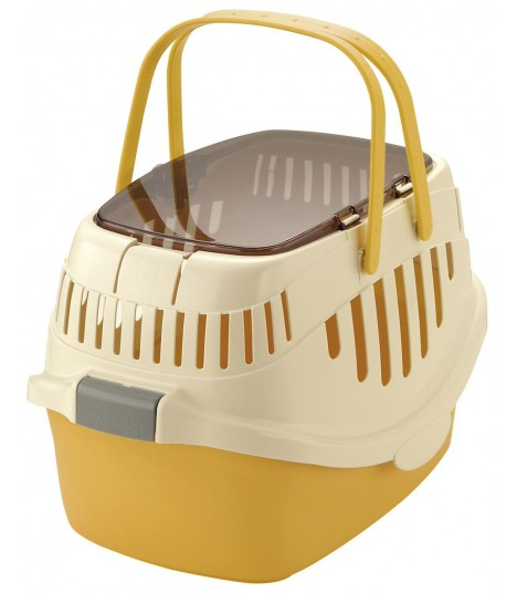 Richell Yellow Pet Bed Carrier