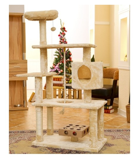Cat condo or cat scratch pole