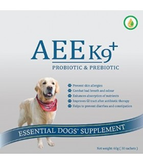 AEE K9 Probiotic & Prebiotic Supplement