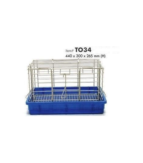 T034 Blue Cage (Small)