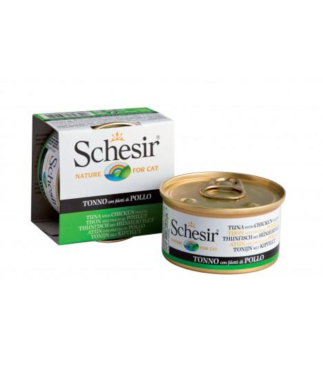 Schesir Tuna with Chicken in Jelly 85g