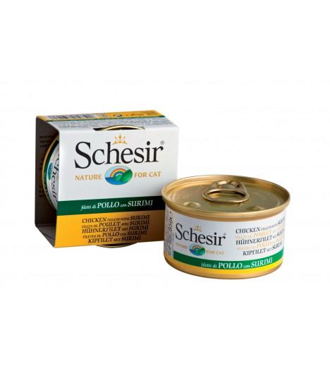 Schesir Chicken Fillet with Surimi in Jelly 85g