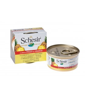 Schesir Real Fruit - Chicken and Pineapple 75g