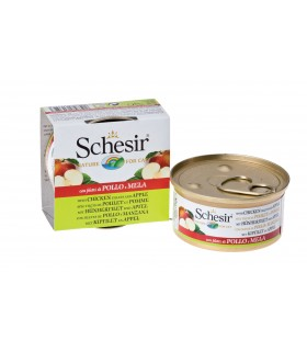 Schesir Real Fruit - Chicken and Apple 75g