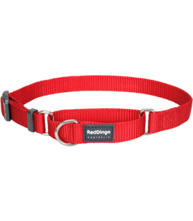 Red Dingo Martingale Red Half Check Collars